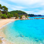Het strand van Santa Cristina and Cala Treumal